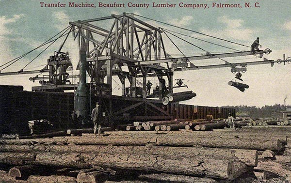 Transfer Machine Beaufort County Lumber Company Fairmont NC