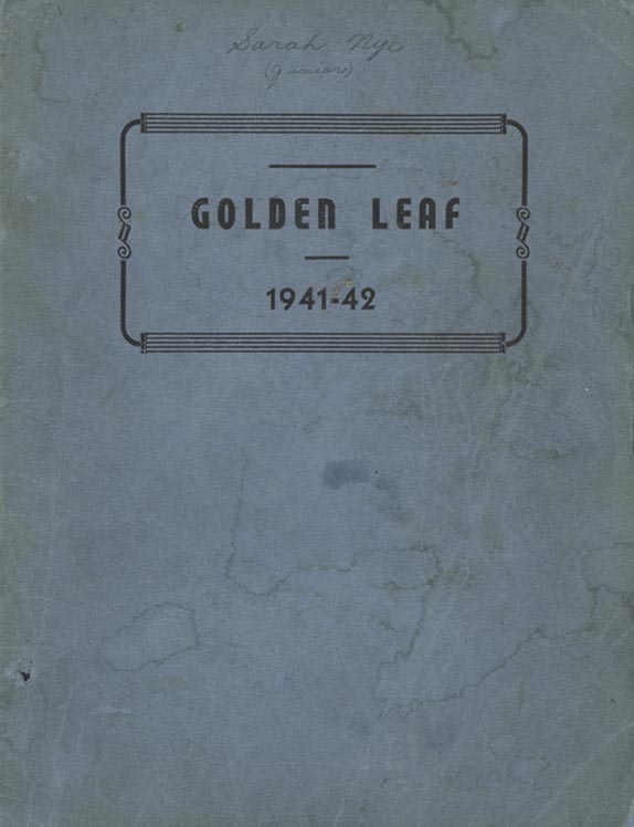 1942FHSYearbookCover
