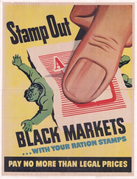 Stamp Out Black Markets With Your Ration Stamps
